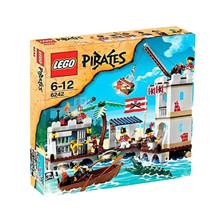 LEGO 6242 Pirates Series Soldiers' Fort