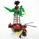 LEGO 6037 System Fright Knights Witch's Windship Retiered and Rare