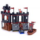 LEGO 8802 Knights' Kingdom Dark Fortress Landing Retiered and Rare