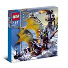 LEGO 8821 Knights' Kingdom Rogue Knight Battleship Retiered and Rare