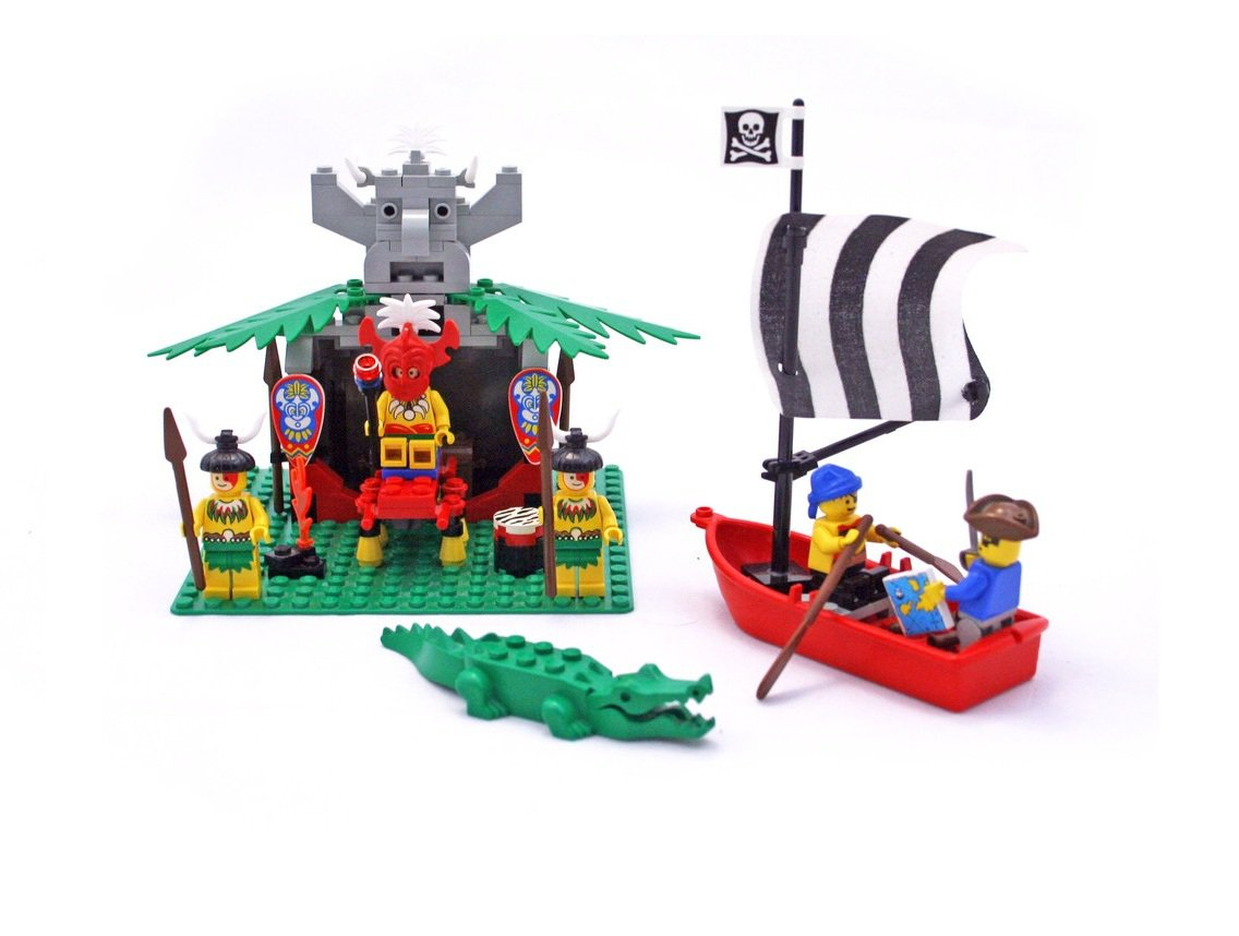 LEGO 6262 System Islanders Series King Kahuka's Throne Retiered and Rare
