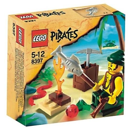 LEGO 8397 Pirates Series Pirate Survival Retiered and Rare