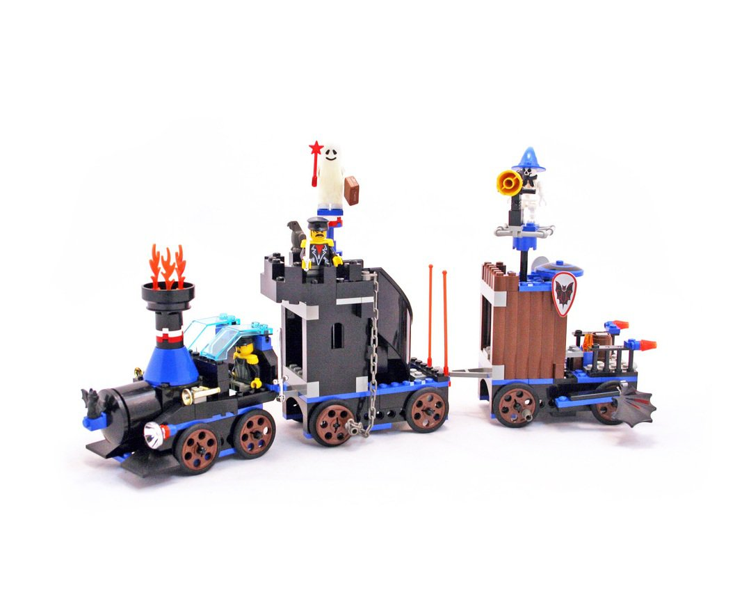 LEGO 6497 System Time Cruisers Series Twisted Time Train Time Lab Vessel Retiered and Rare