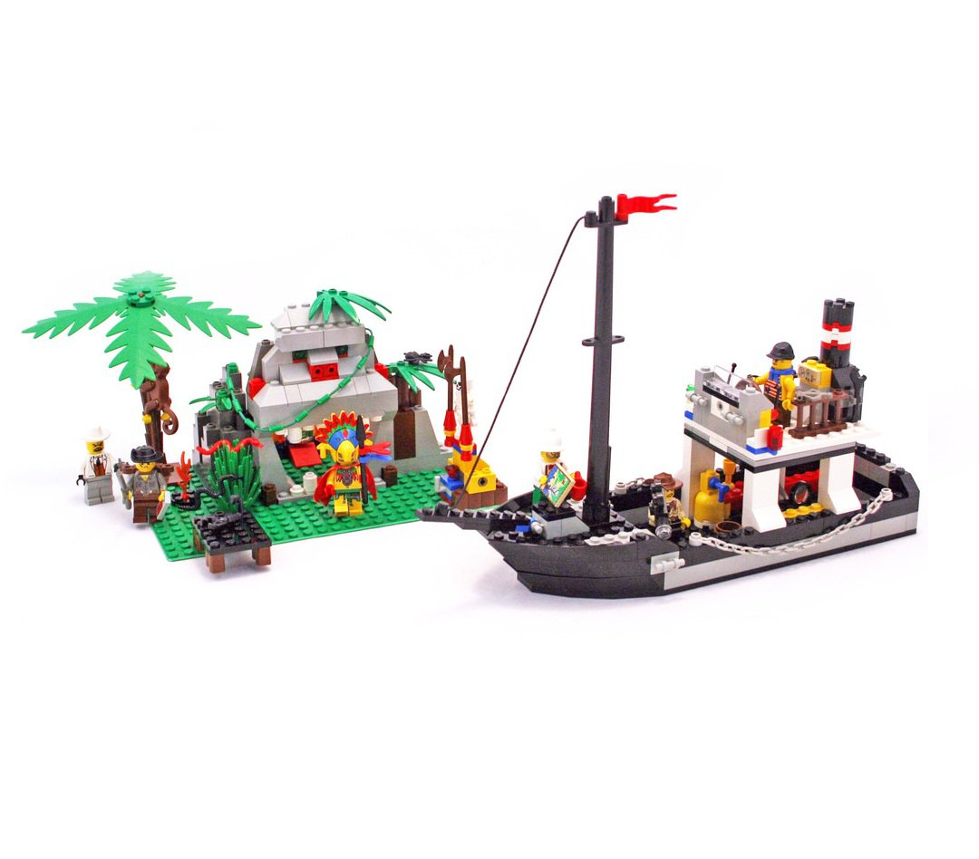 LEGO 5976 System Adventurers Series River Expedition Retiered and Rare