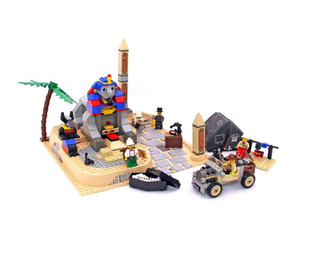 LEGO 5978 System Adventurers Series Sphinx Secret Surprise Retiered and Rare