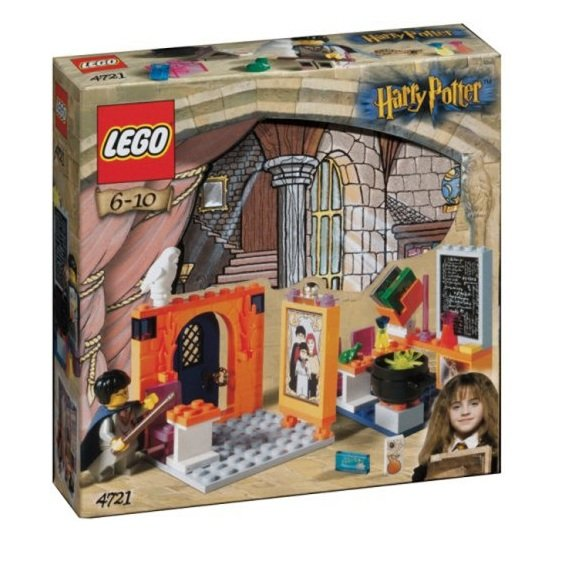 LEGO 4721 Harry Potter Hogwarts Classrooms Retiered and Rare