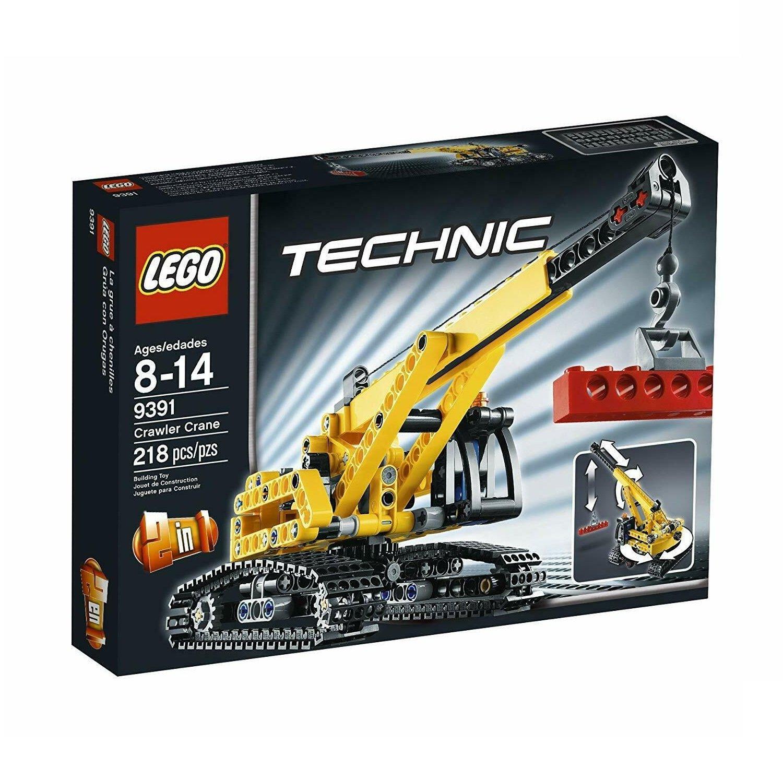 LEGO 9391 Technic Series Tracked Crane