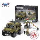 XINGBAO xb-06012 The Ryan Car Military Series Compatible LEGO Building Blocks Toys