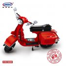 XINGBAO xb-03002 Red Color Vespa P200 Moto Dream-Car Series Compatible LEGO Building Blocks Toys
