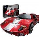 XINGBAO xb-03011 The Red Phantom Racing Car Dream-Car Series Compatible LEGO Building Blocks Toys