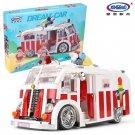 XINGBAO xb-08004 The Ice Cream Car Dream-Car Series Compatible LEGO Building Blocks Toys