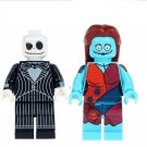 2pcs minifigures The Nightmare Jack Skellington Sally Lego compatible Building Blocks