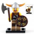 Minifigure Viking Warrior Ancient History Lego compatible Building Blocks Toys