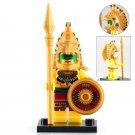 Minifigure Aztec Warrior Ancient History Lego compatible Building Blocks Toys