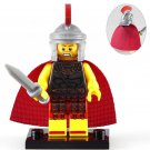 Minifigure Rome Commander Warrior Ancient Italian History Lego compatible Building Blocks Toys