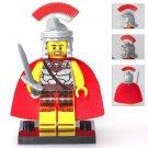 Minifigure Rome Commander Warrior Ancient Italian History Lego compatible Building Blocks Toys