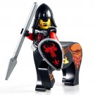 Minifigure Medieval Centaur Red Dragon with Spear Knight Castle Lego compatible Building Blocks