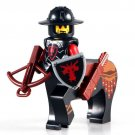 Minifigure Medieval Centaur Red Dragon with Crossbow Knight Castle Lego compatible Building Blocks