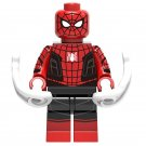 Minifigure Spider-Man Red-Black Far From Home Marvel Super Heroes Lego compatible Building Blocks