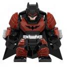 Big Minifigure Batman Red Armored DC Comics Super Heroes Lego compatible Building Blocks Toys