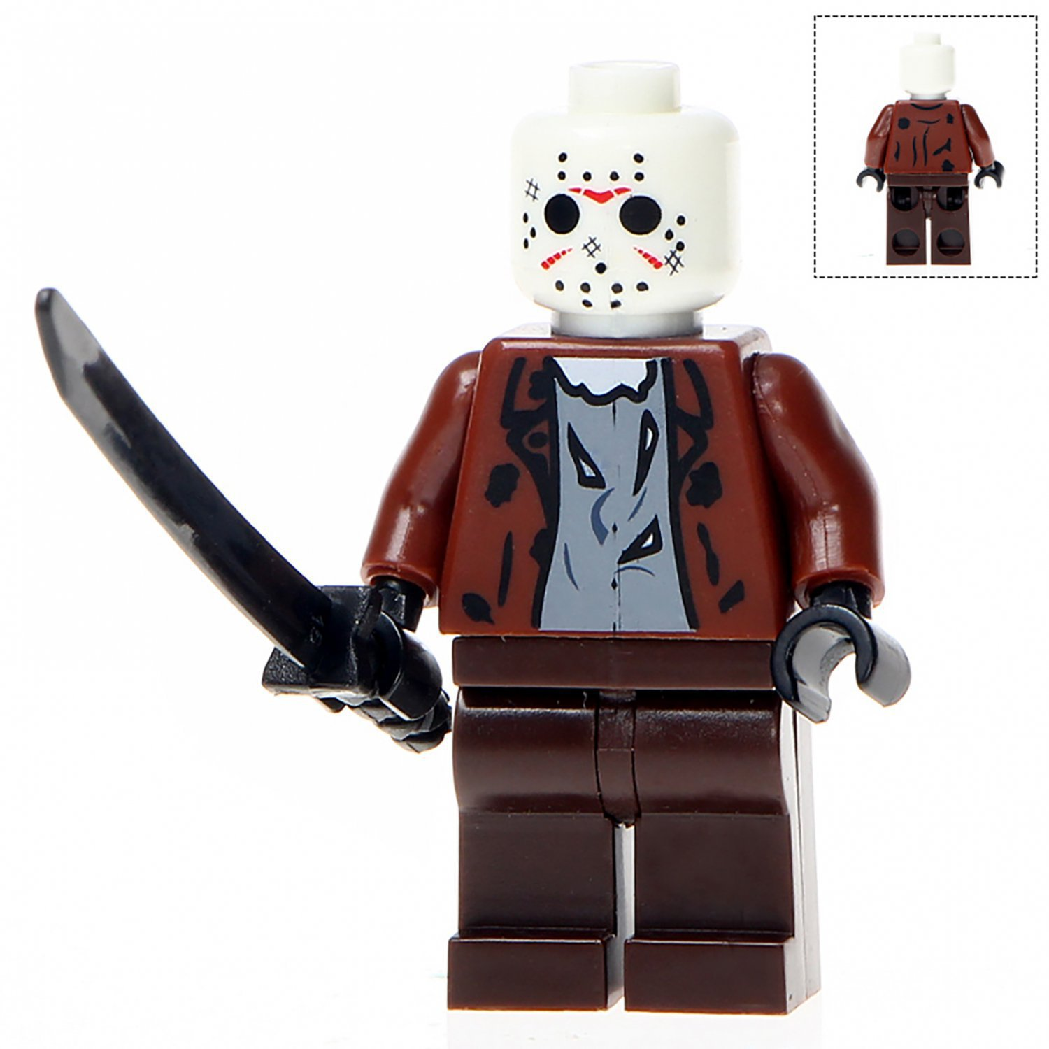Minifigure Jason Voorhees Friday the 13th Horror Lego compatible Building Blocks Toys