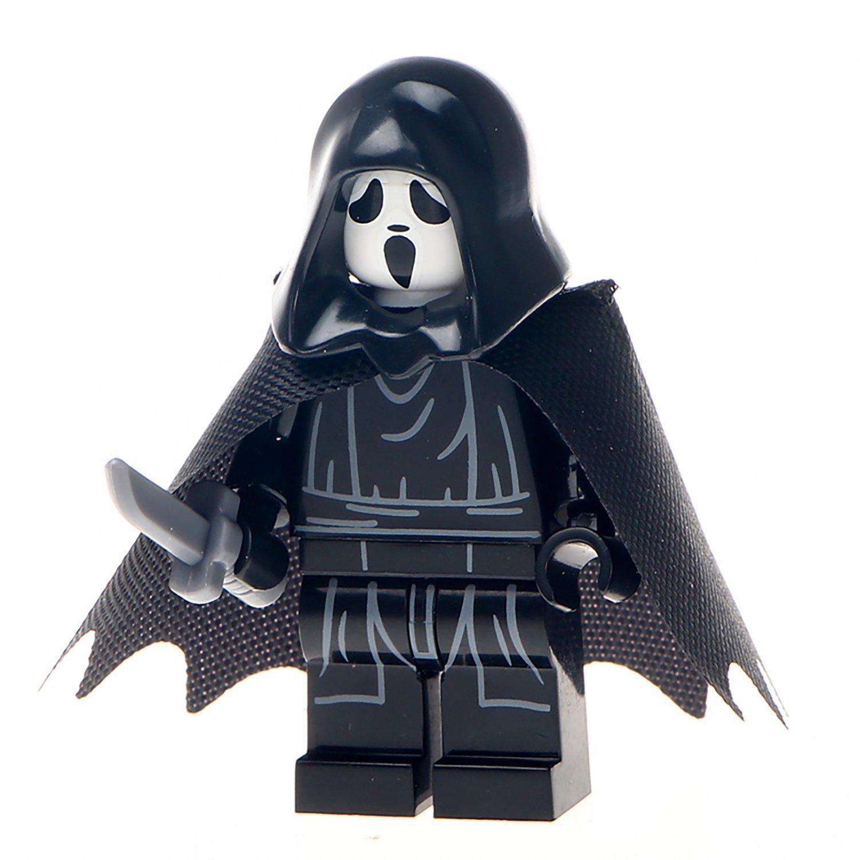 Minifigure Scream Halloween Horror Lego compatible Building Blocks Toys