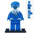 Minifigure Electric Blue Superman DC Comics Super Heroes Lego compatible Building Blocks Toys