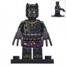 Minifigure T`Chaka Black Panther Marvel Super Heroes Lego compatible Building Blocks Toys