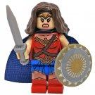Minifigure Wonder Woman DC Comics Super Heroes Lego compatible Building Blocks Toys