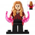 Minifigure Scarlet Witch Avengers Infinity War Marvel Super Heroes Lego compatible Building Blocks