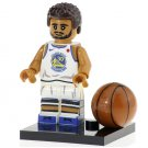 Minifigure Stephen Curry Basketball NBA Golden State Warriors Lego compatible Building Blocks Toys