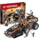 06089 Dieselnaut NinjaGo Series (Lego 70654 copy) Building Blocks