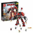 06052 Fire Mech NinjaGo Series (Lego 70615 copy) Building Blocks