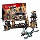 06082 Dragon Pit NinjaGo Movie (Lego 70655 copy) Building Blocks