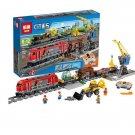 02009 Heavy-Haul Train City Series (Lego 60098 copy) Building Blocks