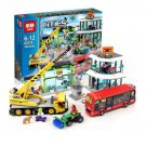 02035 Town Square City Series (Lego 60026 copy) Building Blocks