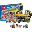 02078 Bus Station City Series (Lego 60154 copy) Building Blocks