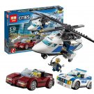 02018 High-speed Chase City Series (Lego 60138 copy) Building Blocks