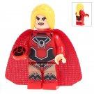 Minifigure Red Lantern Woman DC Comics Super Heroes Lego compatible Building Blocks Toys