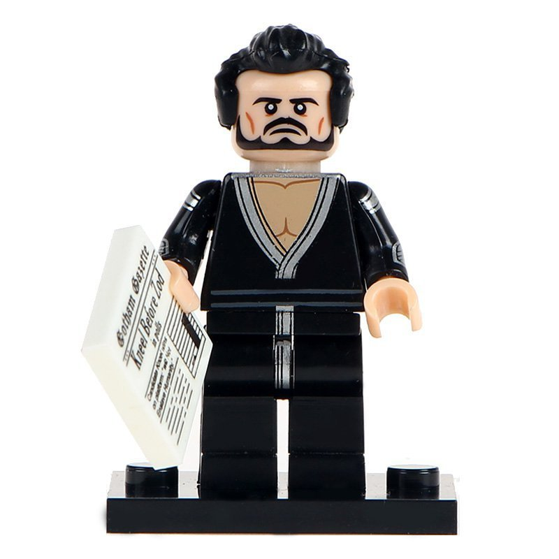Minifigure General Zod from Superman DC Comics Super Heroes Lego compatible Building Blocks Toys