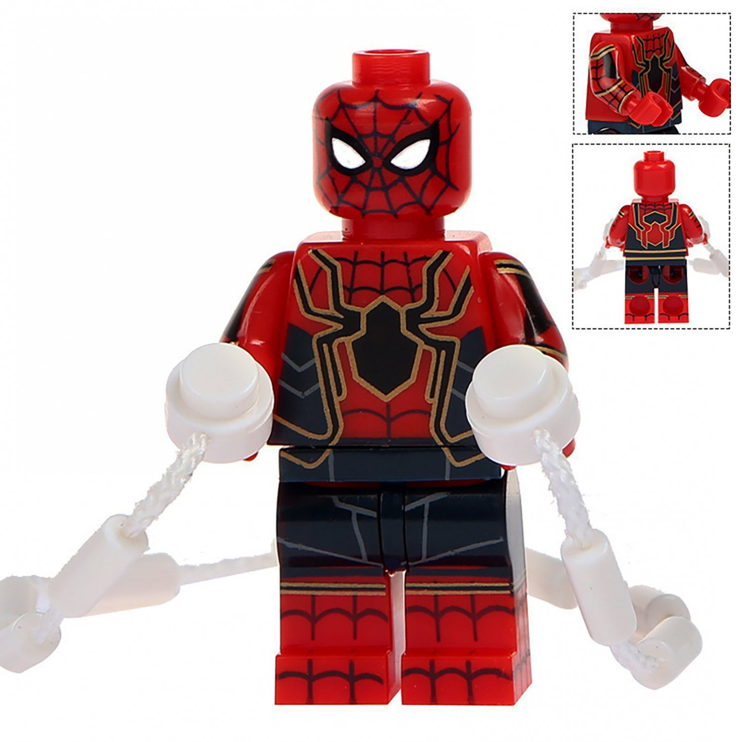 Minifigure SpiderMan Infinity War Marvel Super Heroes Lego compatible Building Blocks Toys