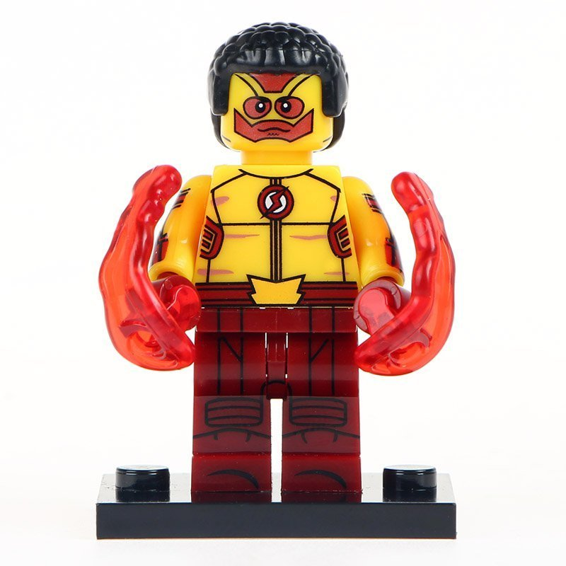 Minifigure Kid Flash Wally West DC Comics Super Heroes Lego compatible Building Blocks Toys