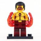 Minifigure Kid Flash Wally West DC Comics Super Heroes Lego compatible Building Blocks Toys