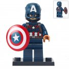 Minifigure Captain America Marvel Super Heroes Lego compatible Building Blocks Toys