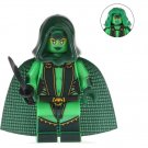 Minifigure Gamora Guardians of the Galaxy Marvel Super Heroes Lego compatible Building Blocks Toys