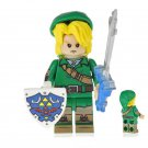 Minifigure Link from The Legend of Zelda Nintendo Game Lego compatible Building Blocks Toys