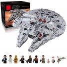 05132 Millennium Falcon Ultimate Series Star Wars (Lego 75192 copy) Building Blocks