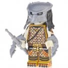 Minifigure Predator Net Suit with Two Claws Lego compatible Building Blocks Toys