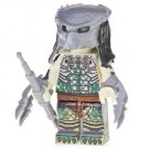 Minifigure Predator Green Net Suit with Two Claws Lego compatible Building Blocks Toys