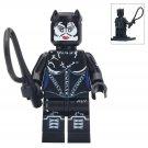 Minifigure Catwoman Latex Suit DC Comics Super Heroes Lego compatible Building Blocks Toys